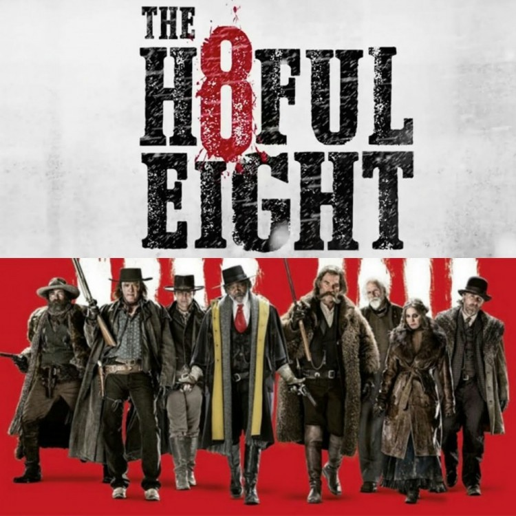 Yelling at the screen: The Hateful Eight